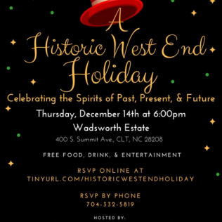 Annual Historic West End Holiday Party!